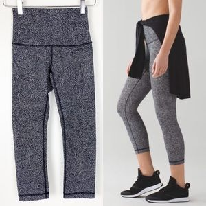 "Lululemon Wunder Under Hi Rise 21"" Crop"
